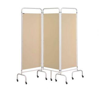 Screen Three Panel Mobile Folding Hospital Ward