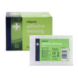 Relipore Adhesive 5 cm x 7.5 cm