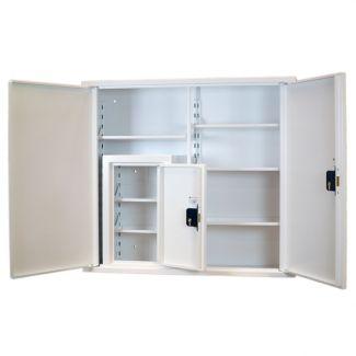 Medicine Cabinet with Internal CD - SPECMED404