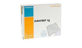 Durafiber AG 5cm x 5cm Dressing (10)
