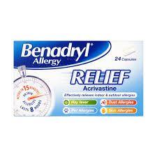 Benadryl Allergy Relief Caps 24
