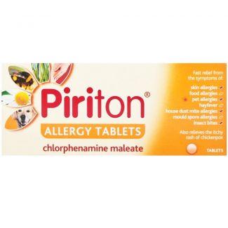 Piriton Allergy Tabs 4mg 30