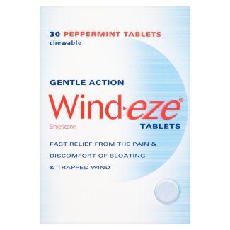 Wind-Eze Chew Tabs 30