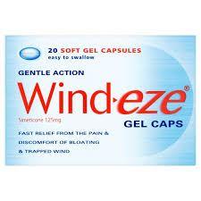 Wind-Eze Gel Caps 20