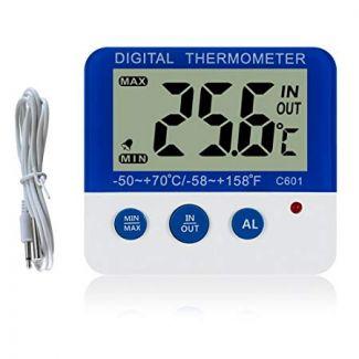Digital Min Max Fridge Freezer Alarm Thermometer