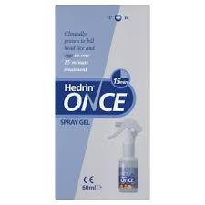 Hedrin Lot Spray 4% 120ml