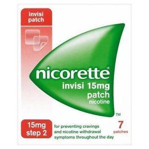 Nicorette Invisi-Patch 15mg 7
