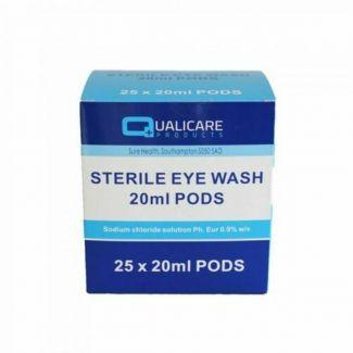 Eyewash Sterile Pods 20ml (25)